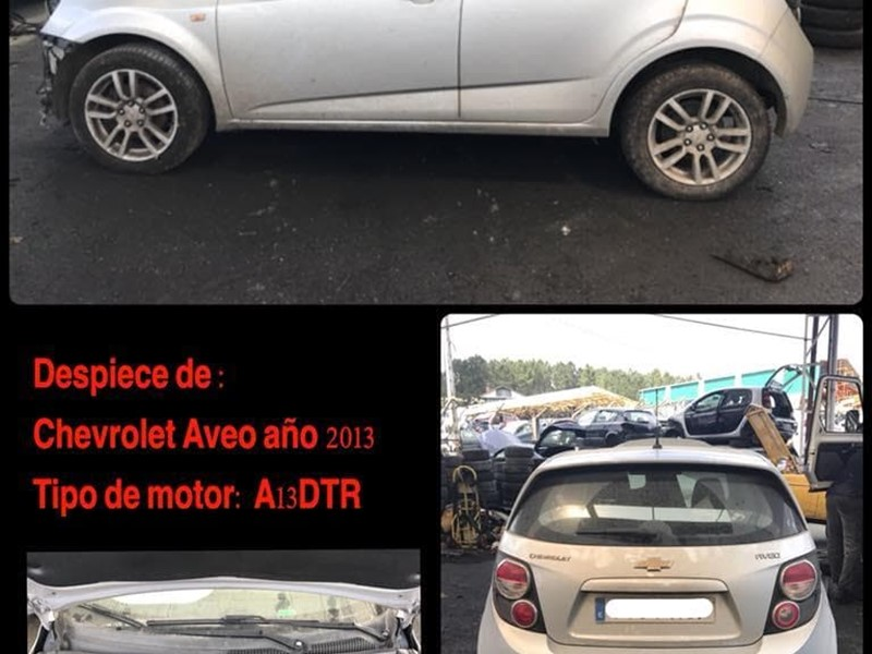 DESPIECE DE CHEVROLET AVEO