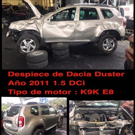 DESPIECE DE DACIA DUSTER