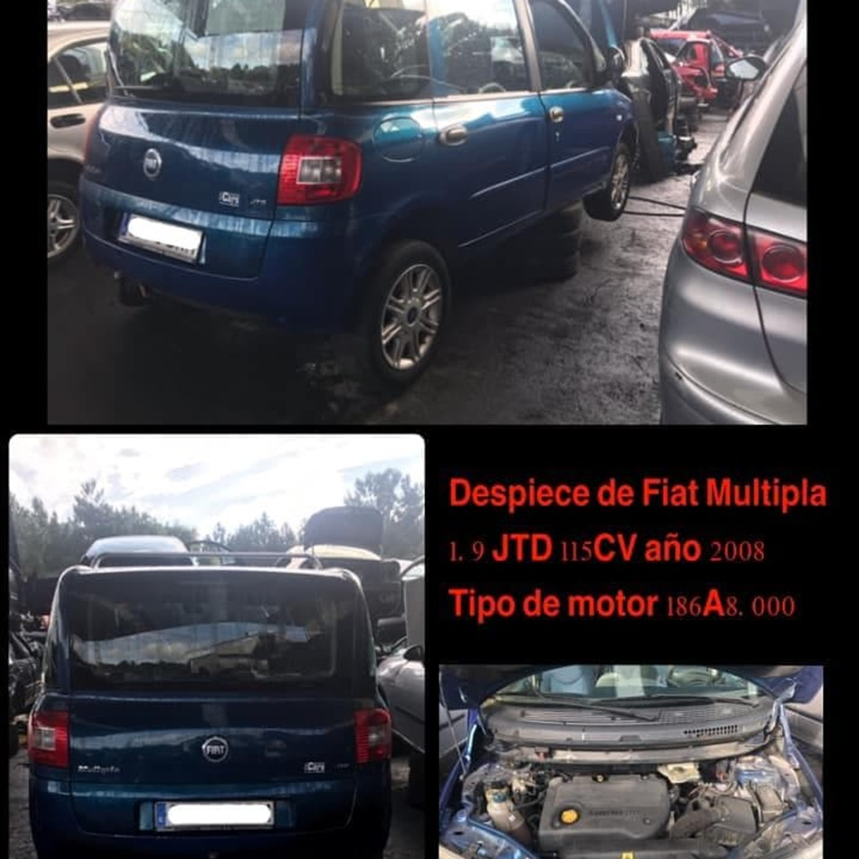 DESPIECE DE FIAT MULTIPLA