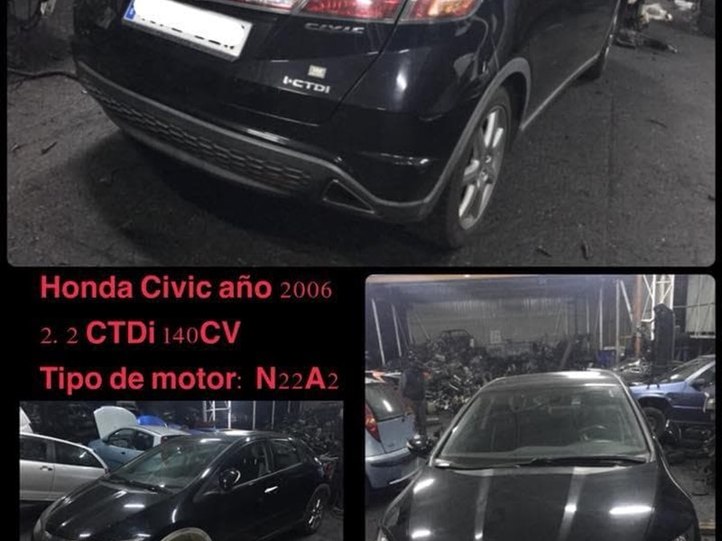 DESPIECE DE HONDA CIVIC