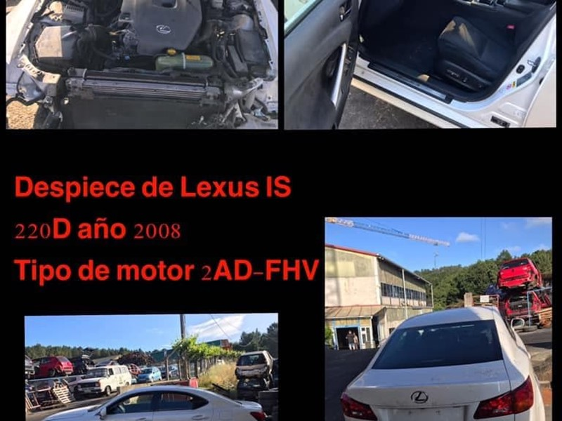 DESPIECE DE LEXUS IS