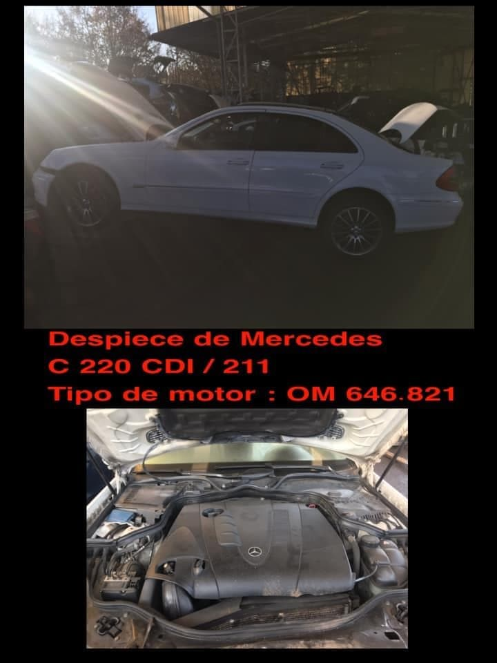 Foto 1 DESPIECE DE MERCEDES C 220 CDI 211