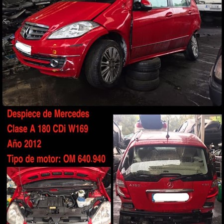 DESPIECE DE MERCEDES CLASE A 180 - 169
