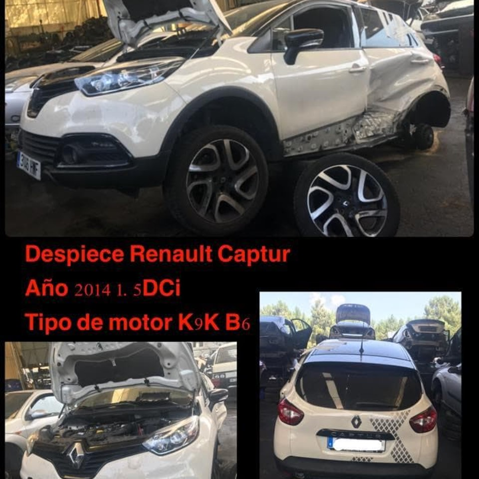 DESPIECE DE RENAULT CAPTUR