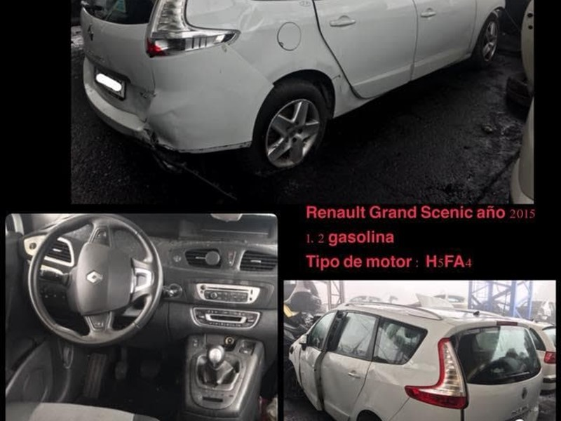 DESPIECE DE RENAULT GRAND SCENIC