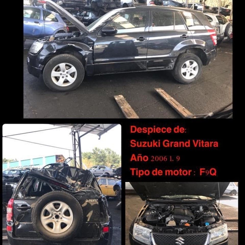DESPIECE DE SUZUKI GRAND VITARA