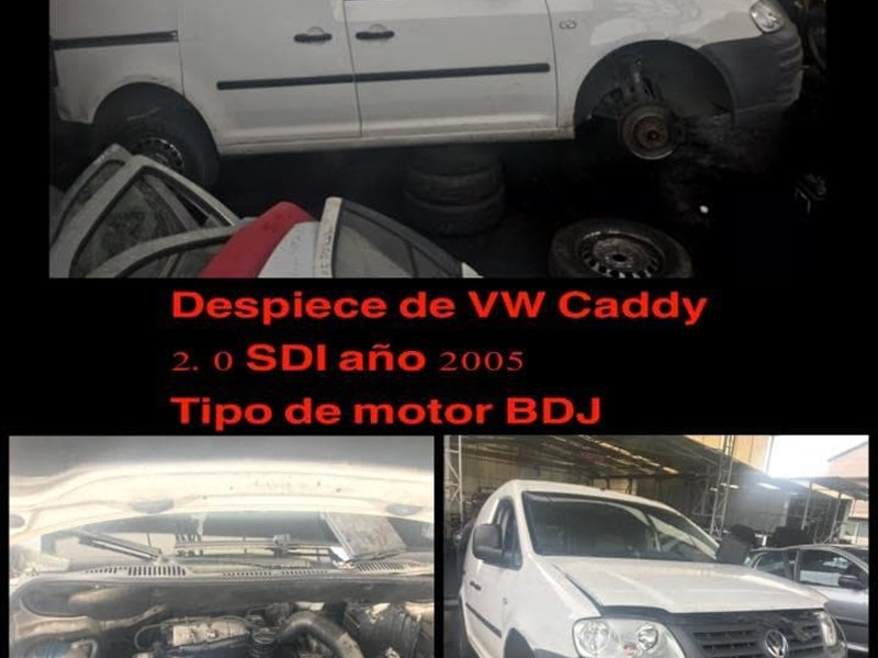 DESPIECE DE VW CADDY