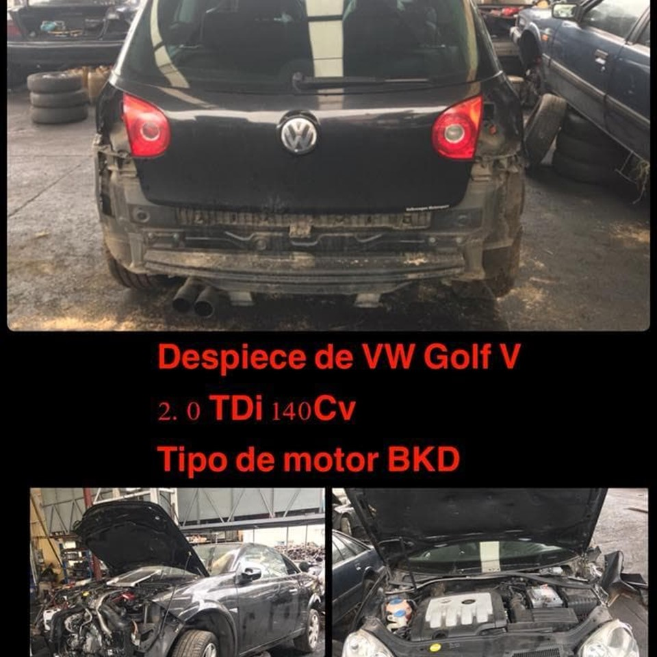 DESPIECE DE VW GOLF V