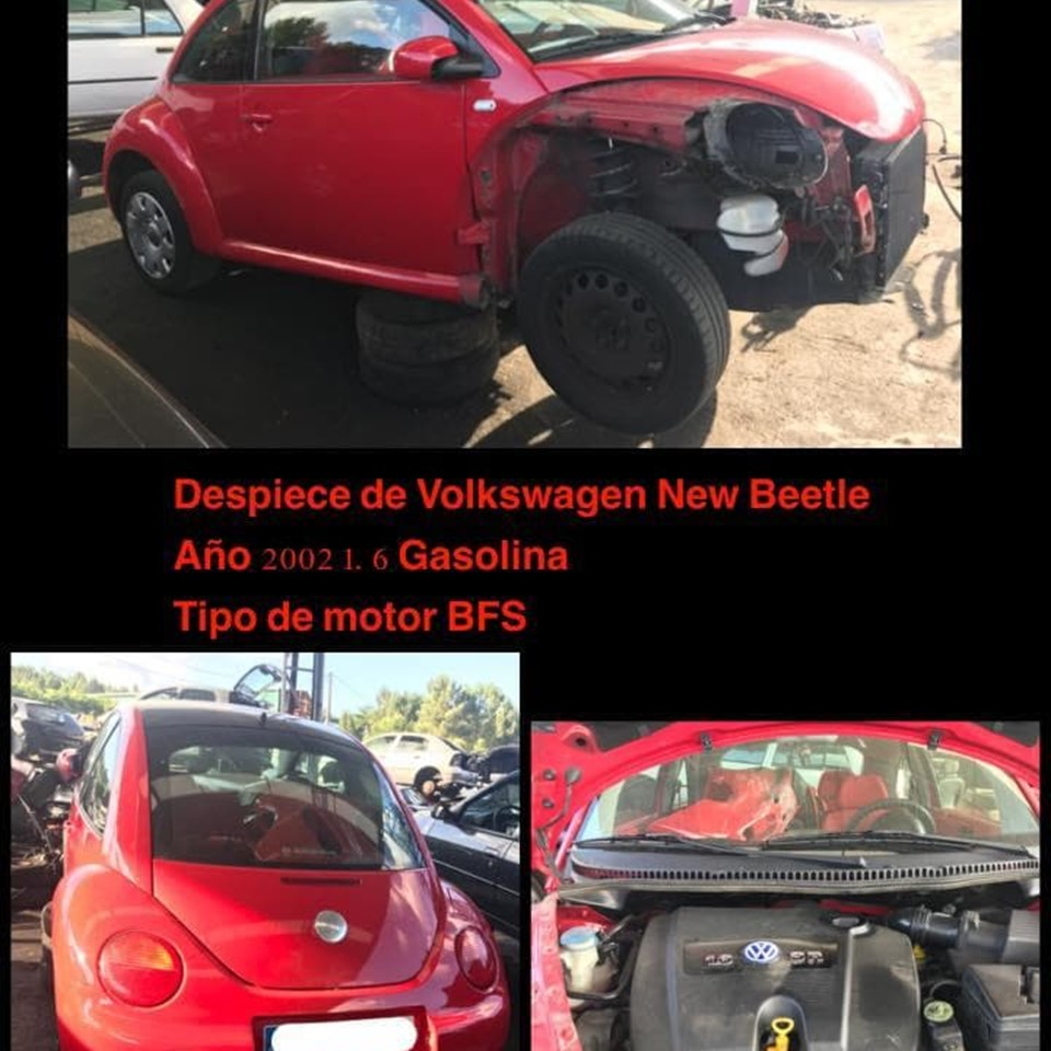 DESPIECE DE VW NEW BEETLE