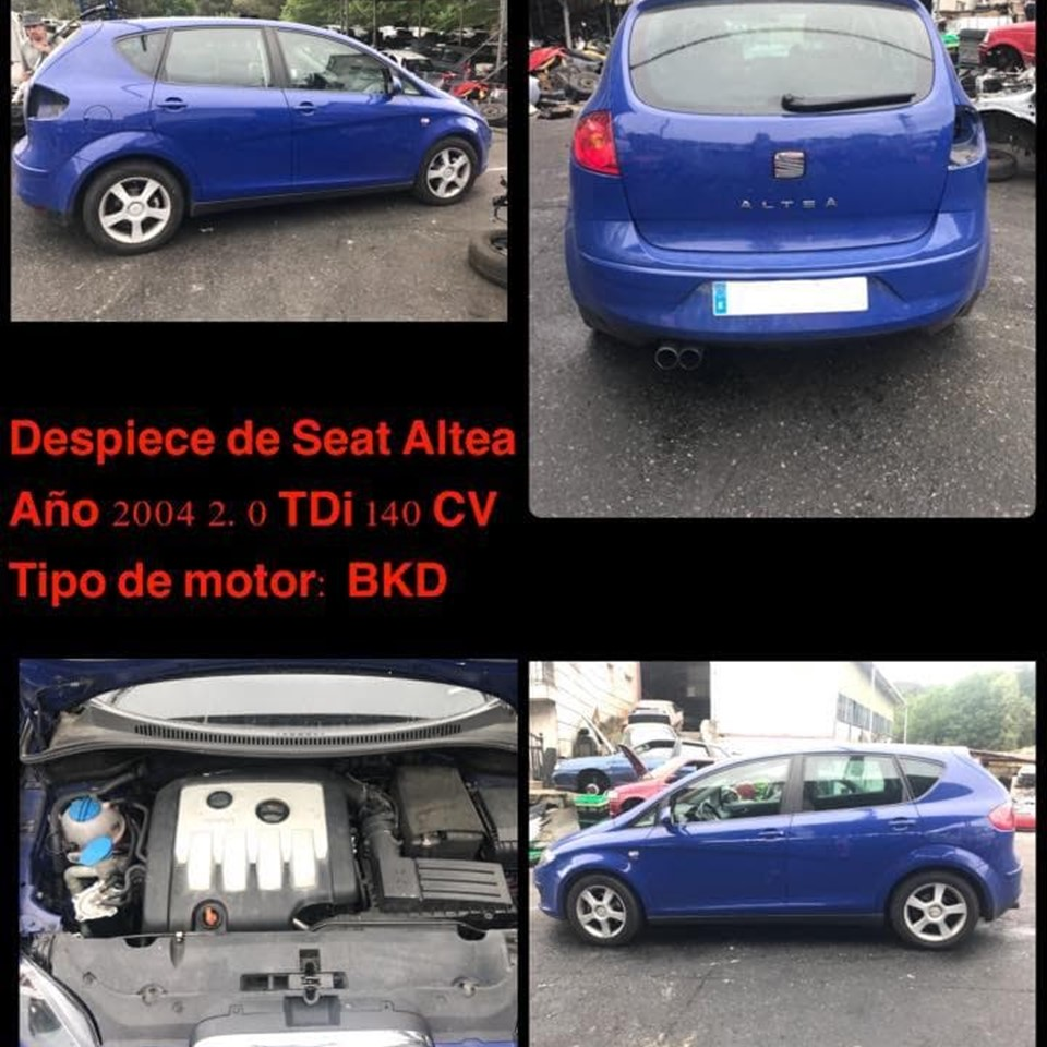 DESPIECE SEAT ALTEA